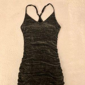 Heather Grey Body Con Racerback Splendid Dress